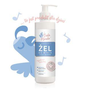 e-FIORE  żel dla dzieci i niemowląt  od 1-go dnia życia do mycia ciała i włosów 250ml Trele Morele