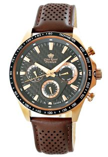 Zegarek Męski Gino Rossi Stalowy Premium S523A-1B1