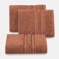 Ręcznik bambusowy MILA 50x90 Eurofirany ceglany