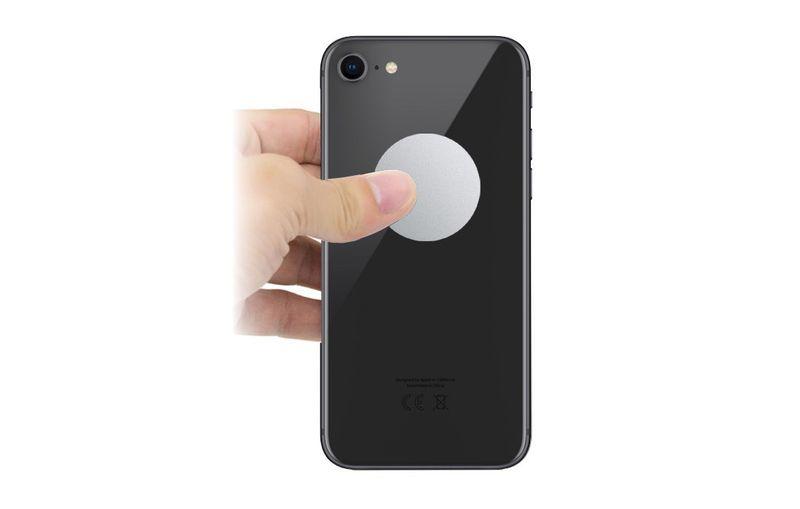 blaszka na telefon tablet metalowa pod uchwyt magnetyczny magnes 30mm na Arena.pl