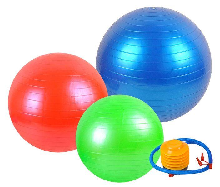 Piłka Gimnastyczna Rehabilitacyjna Fitness 75cm 419 zdjęcie 4