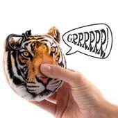 Pluszowy Brelok z Dźwiękiem Dziki Zwierzak