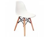 Krzesło BIAŁE dziecięce nowoczesne skandynawskie dsw dsr 071-1