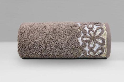 Ręcznik Bella 70x140 Greno BRĄZOWY