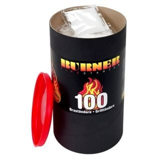 Podpałka do grilla 100 szt. bezzapachowa rozpałka do kominka swe