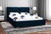 Łóżko tapicerowane LUX13 120x200 ze Stelażem i pojemnikiem