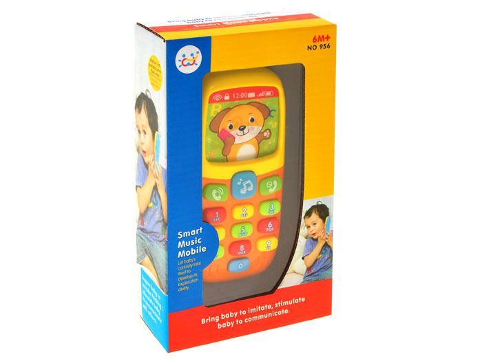 Kolorowy TELEFONIK Dla Maluszka Dźwięki Światła zdjęcie 10