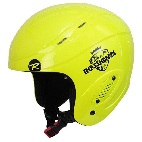 Kask Rossignol COMP Junior neon yellow RK0C024 - r. 56 cm zdjęcie 1