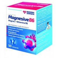 Rodzina Zdrowia, Magnesive B6, 50 tabletek - Długi termin ważności!