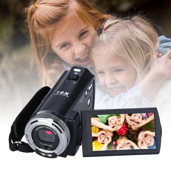 ORDRO DV-12 Kamera cyfrowa z pilotem Full HD 16x Zoom j. polski T237S zdjęcie 8