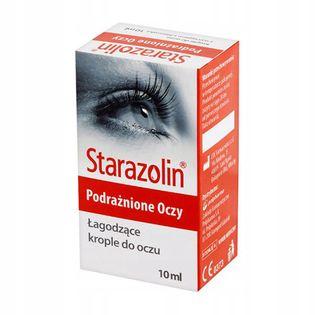 Starazolin Krople łagodzące(podrażnione oczy)10 ml