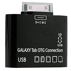 ADAPTER 5w1 Samsung Gal Note Tab 2 10.1 7.0 USB SD