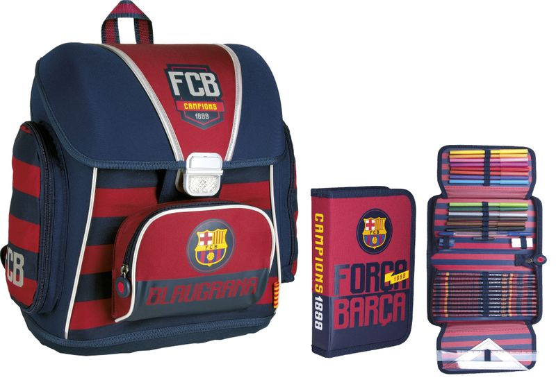 Tornister szkolny FC Barcelona + piórnik gratis !!! zdjęcie 1