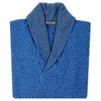 Niebieski kardigan SW12 Rozmiar swetra - M