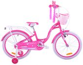 Rower dziecięcy 20 Fuzlu Lilly różowy