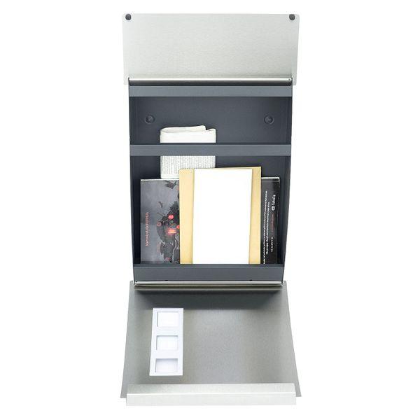 Zamykana skrzynka pocztowa na listy gazety ze stali szlachetnej MB05 zdjęcie 5