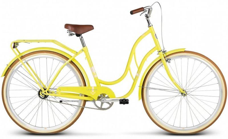 """Rower miejski 28 Kross Le Grand Madison 2 żółty 18"""" zdjęcie 1"""