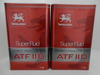 WOLVER SUPER FLUID ATF II D 8L