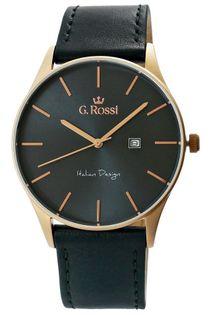 Zegarek Męski G.Rossi 7028A2-6F3
