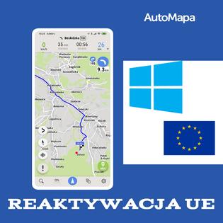 Reaktywacja AutoMapa Windows Europa(>2 lata wygaś.)