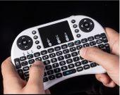 Klawiatura smart TV mini bezprzewodowa i8+ mysz Kolor - Biały zdjęcie 5