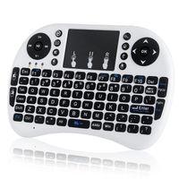 Klawiatura smart TV mini bezprzewodowa i8+ mysz Kolor - Biały
