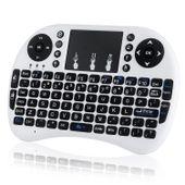 Klawiatura smart TV mini bezprzewodowa i8+ mysz Kolor - Biały zdjęcie 1