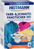 Chusteczki wyłapujące kolor i brud Heitmann 45 szt.