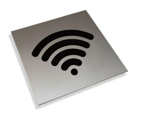 Tabliczki informacyjne na drzwi piktogram wi-fi tabliczka na Arena.pl