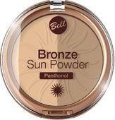 Bell Puder brązująco-rozświetlający Bronze Sun prasowany nr 022  9g