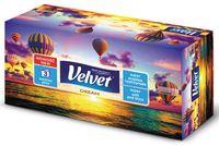 Chusteczki Kosmetyczne Celulozowe Velvet Dream, 3-Warstwowe, 90 Listków, Biały