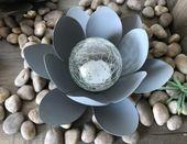 Oświetlenie słoneczne RGB Kwiat lotosu IP44 27cm tarasowe swe zdjęcie 4