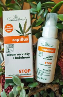 Cannaderm - Capillus serum z kofeiną przeciw wypadaniu włosów