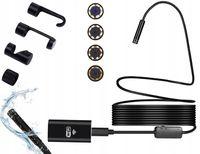 Endoskop WiFi KAMERA INSPEKCYJNA 5m USB HD S145