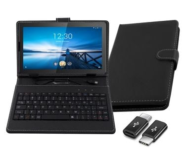 klawiatura z etui do Lenovo Tab M10 10.1 TB-X605F/L uniwersalna