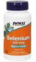 NOW Foods Selenium Selen 200 mg 90 kapsułek