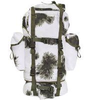 Duży plecak BW turystyczny 65 l winter tarn