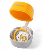 BabyOno 535/03 Pojemnik na smoczek NATURAL NURSING żółty