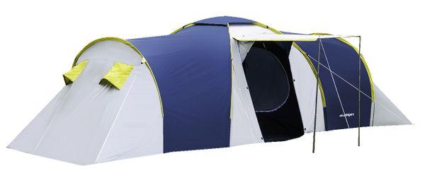 Rodzinny namiot 6-osobowy NADIR niebieski