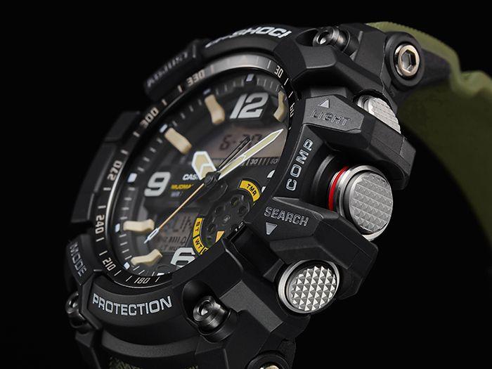 Zegarek męski Casio G-SHOCK - GG-1000-1A3ER MUDMASTER Kurier 0zł zdjęcie 4