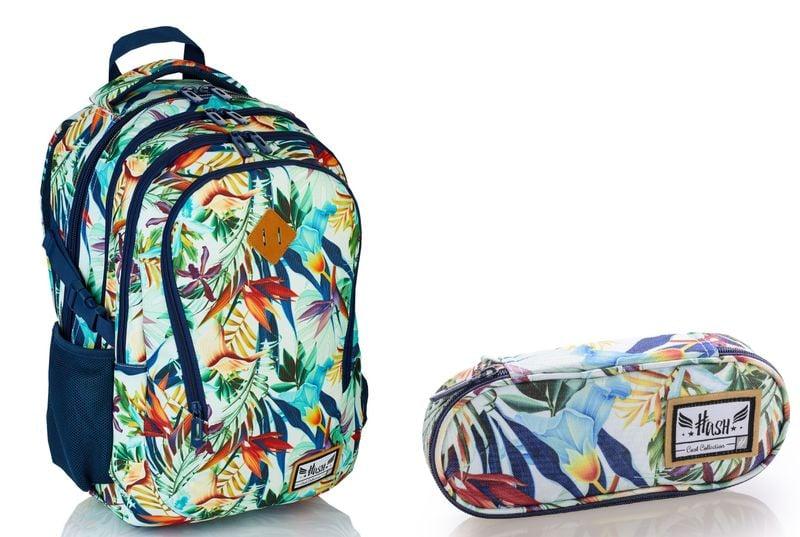 HASH Plecak szkolny  HS-05 + PIÓRNIK HS-06 zdjęcie 1