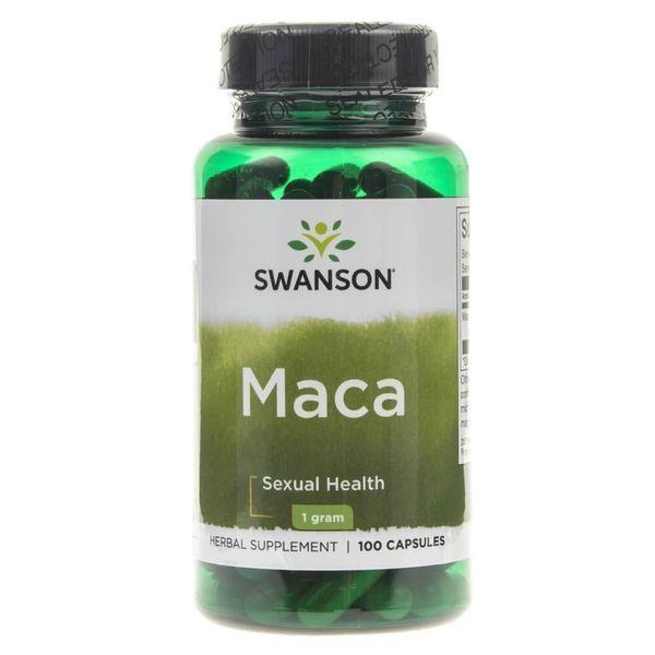 Swanson Maca 500 mg - 100 kapsułek zdjęcie 1