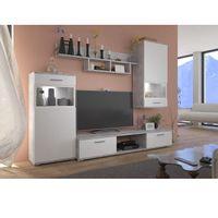 Meblościanka witryny szafka meble pokojowe LED SALI TYLKO 7 DNI