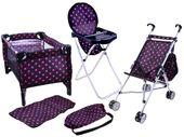 Wózek łóżeczko krzesełko 5w1 kompletny set ZA2375