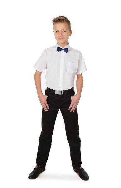 Biała koszula komunijna, krótki rękaw. 86 zdjęcie 4