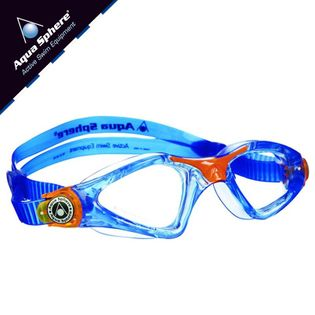 Okulary pływackie KAYENNE JR Kolor - Aqua Sphere - Kayenne Jr - EP123116 - niebieski / pomarańczowy / jasne szkła