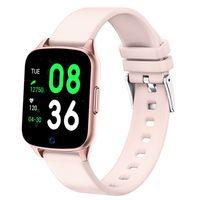 Zegarek damski SMARTWATCH RUBICON - RNCE42 - Różowy