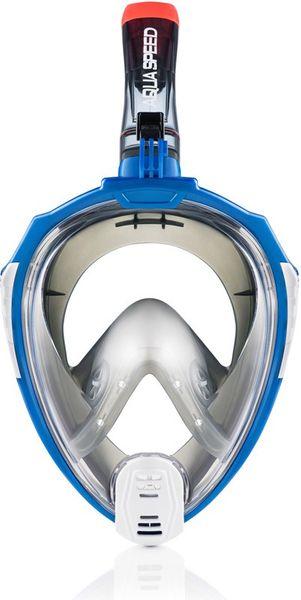Maska do nurkowania pełnotwarzowa DRIFT Rozmiar - Maski - L/XL, Kolor - Drift - 18 - żółty / biały na Arena.pl