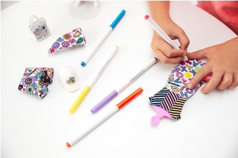 6fa0bda23 Barbie Crayola Kolorowa Moda Mattel FPH90 • Arena.pl