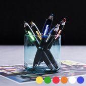 Długopis ze Wskaźnikiem LED 145973 Biały zdjęcie 1